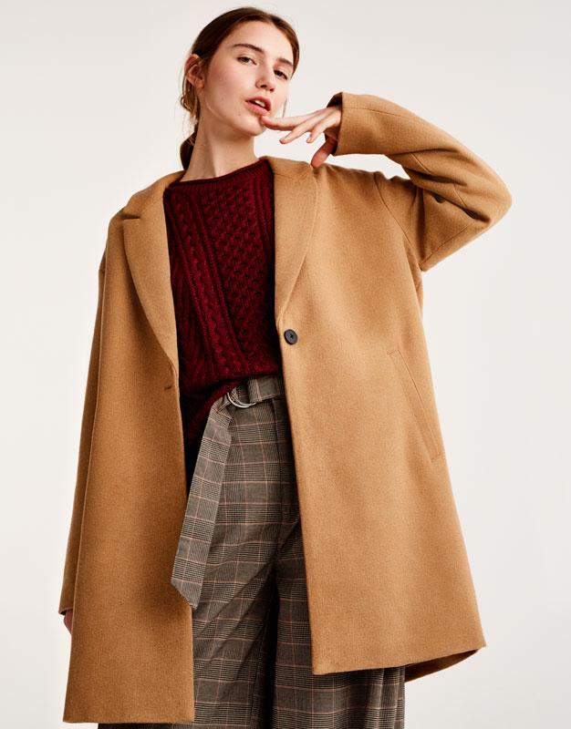 пальто куртка песочного цвета