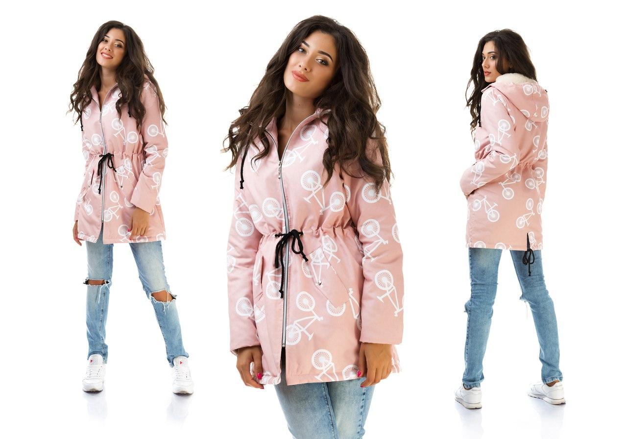 Модные куртки на синтепоне весна 2019 женские новые фото