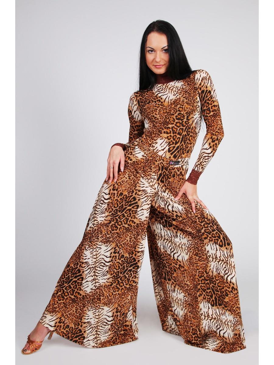 юбка 2019 фото новинки весна лето: брюки леопард