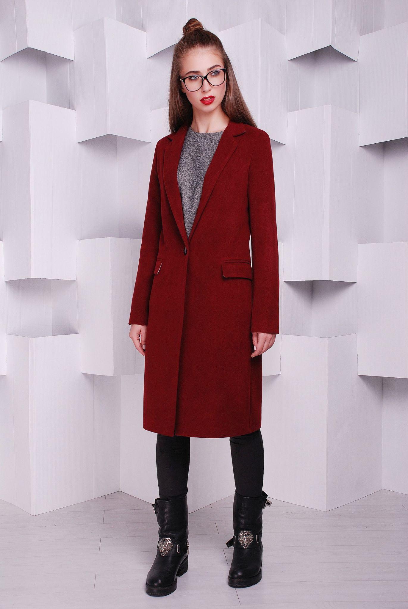 цвет марсала это какой: пальто мили классика