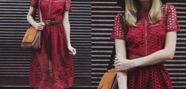 цвет марсала это какой: платье-сетка