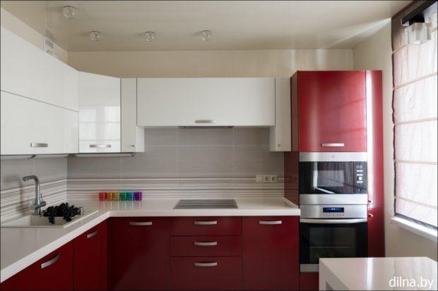 цвет марсала в интерьере: кухня