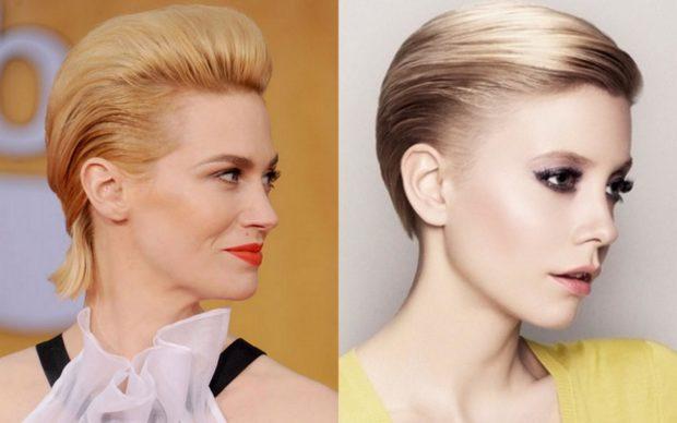 красивые и легкие прически: зачесывание волос на верх