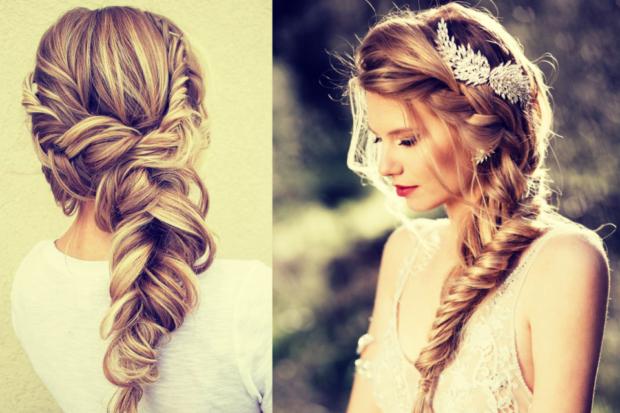 французская коса романтический образ