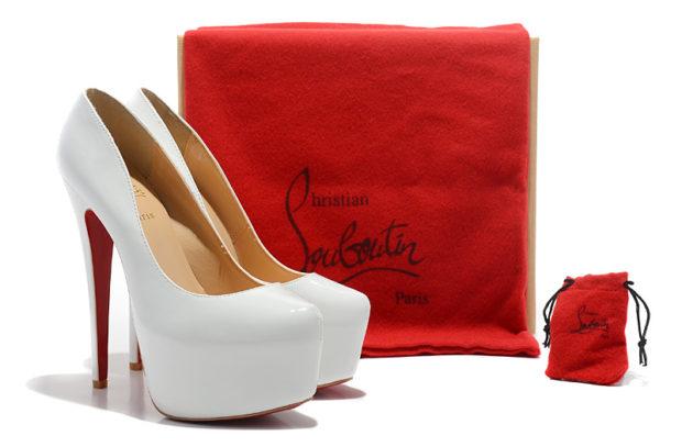 лабутены фото туфли женские: белые