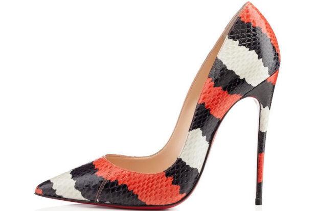 лабутены туфли: яркие цветные