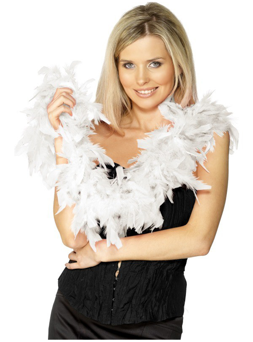 шарф из перьев