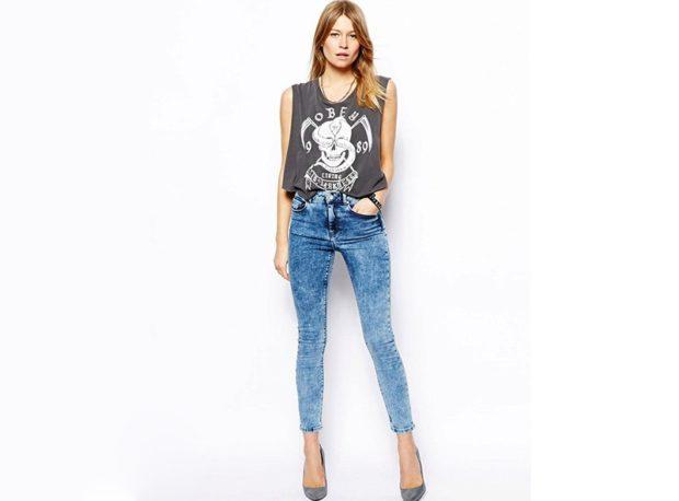 короткие джинсы варенка