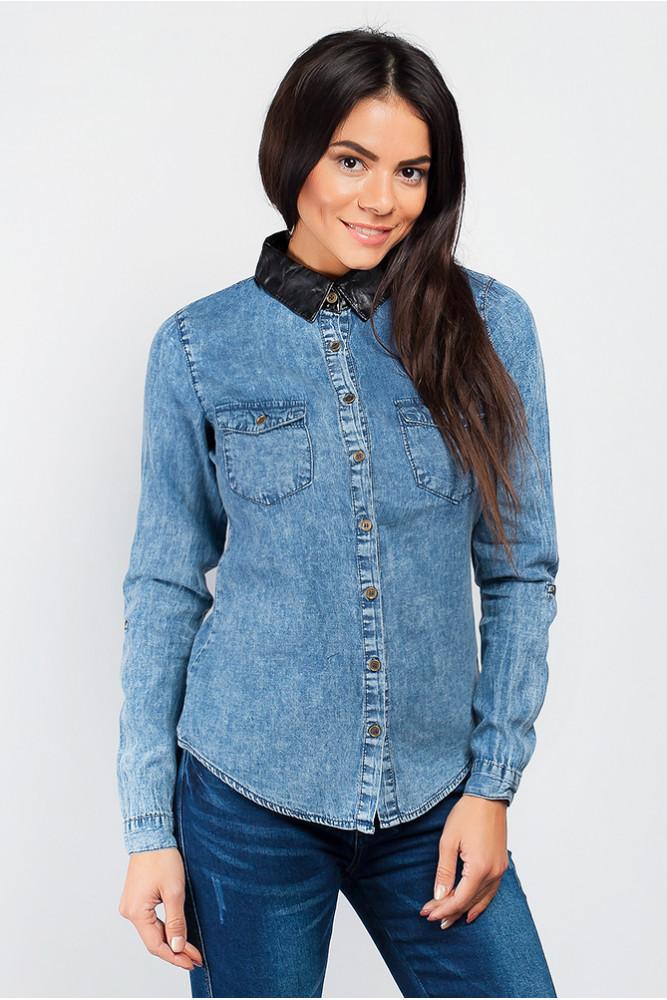 мода весна лето 2019 для женщин за 50: рубашка варенка с длинным рукавом