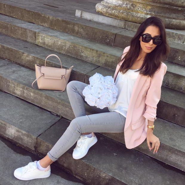 женская обувь весна лето 2019: кроссовки белые