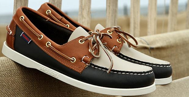 модная обувь весна лето 2019 фото: топсайдеры коричневые с черным и белым