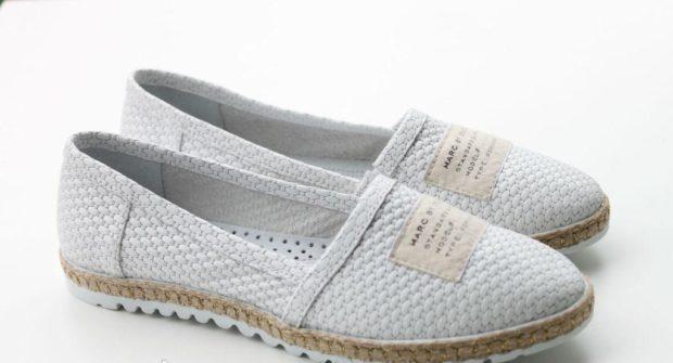 модная обувь весна лето 2019 фото: эспадрильи белые тканевые