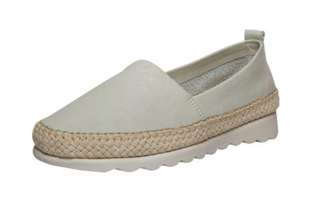 модная обувь весна лето 2019 фото: эспадрильи белые кожаные