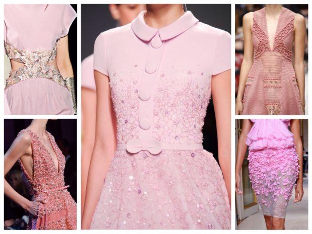 одежда нежно-розового цвета