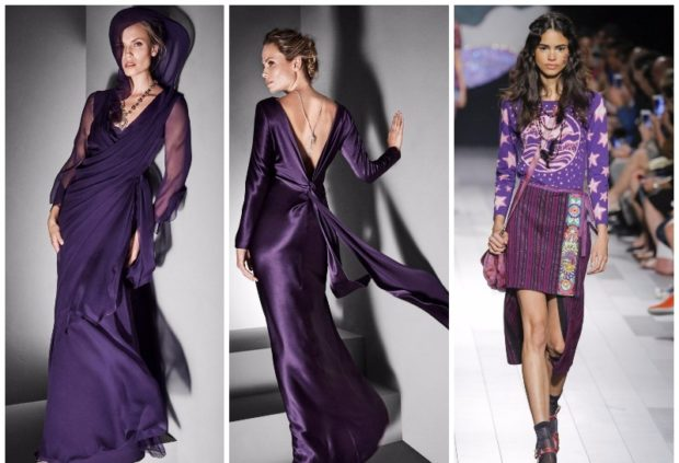Ультрафиолетовый цвет в одежде