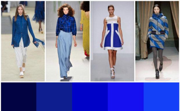 цвета весна лето 2019 года: модный цвет морской