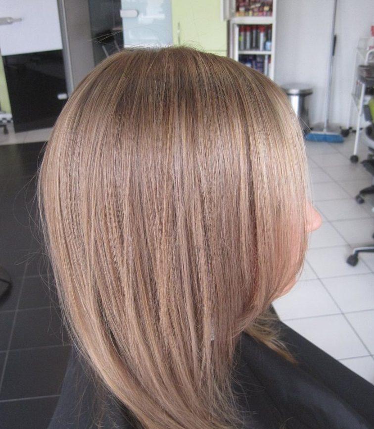 модный цвет волос платиновый блонд