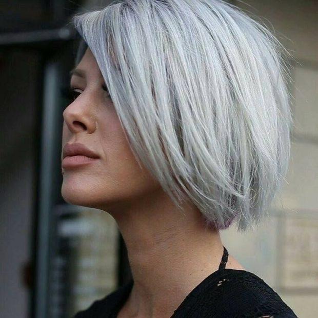 модный цвет волос пепельный блонд