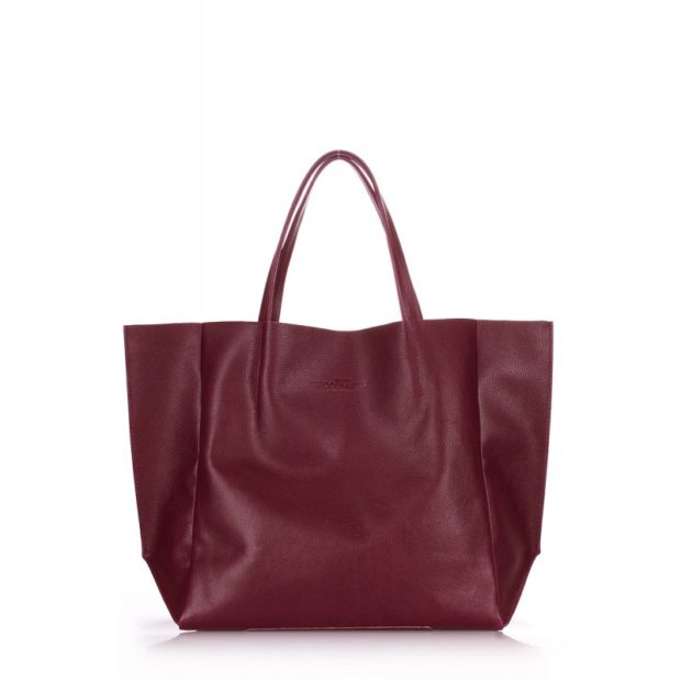 цвета весны лета 2019: сумка красно-коричневая