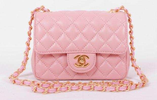 цвета весны лета 2019: сумка светлая нежно-розовая