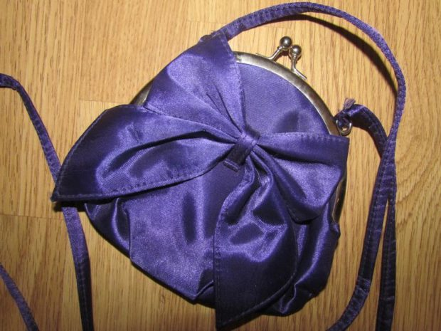 сумка цвет ультрафиолетовый маленькая