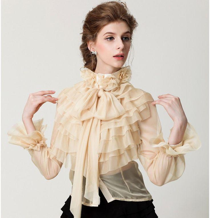 модные блузки весна лето 2019: с рюшами светлая прозрачная