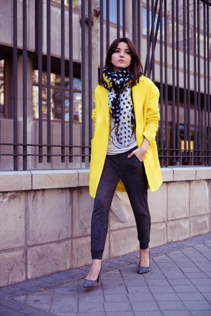 пальто куртки весна 2019: куртка желтое оверсайз
