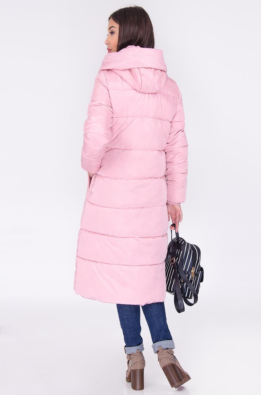 болоньевое пальто 2019 весна: розовое миди