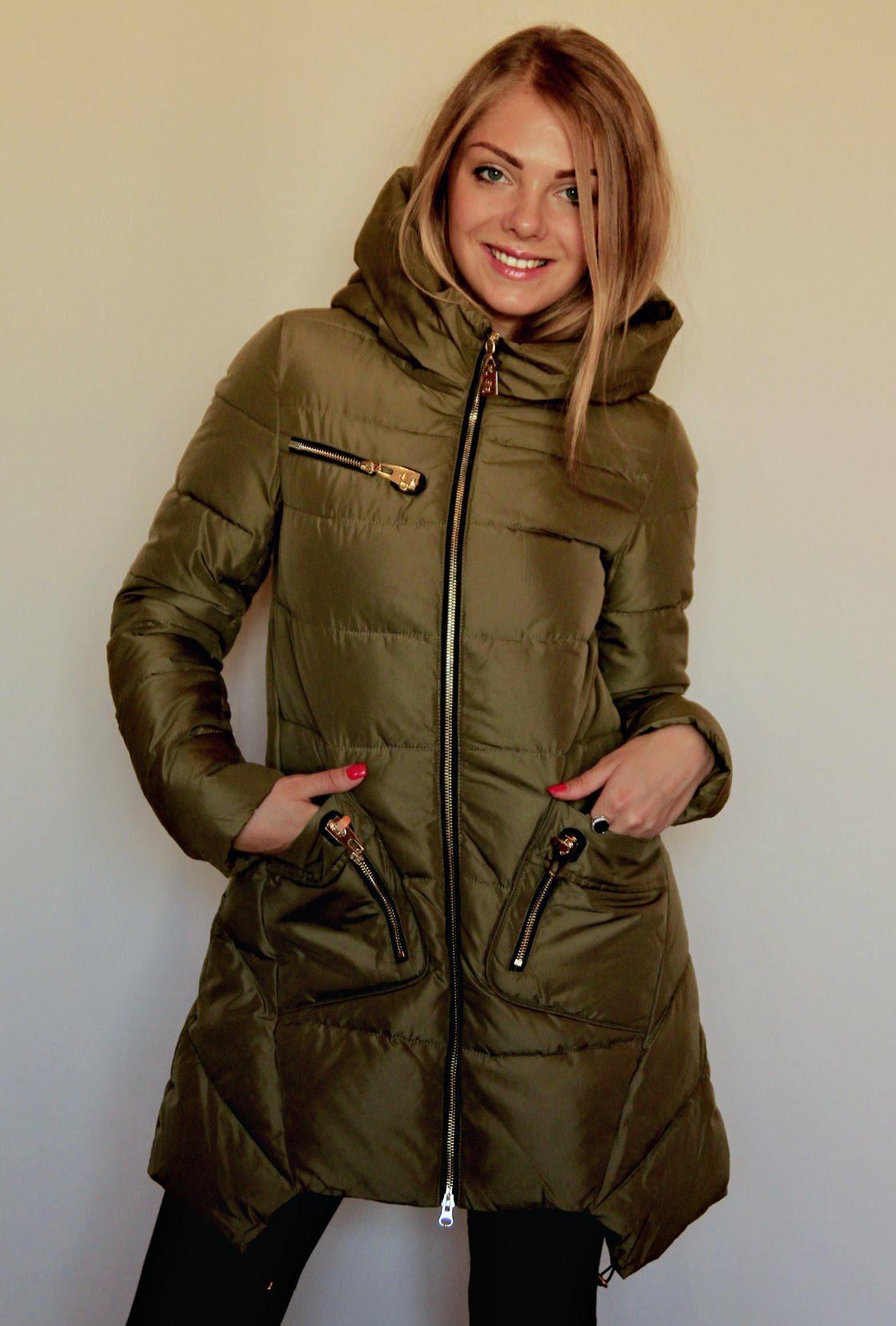 болоньевое пальто 2019 весна: зеленое асимметрия