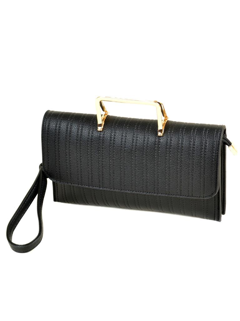 мода сумок лето 2019: клатч черный ручка золотая металл