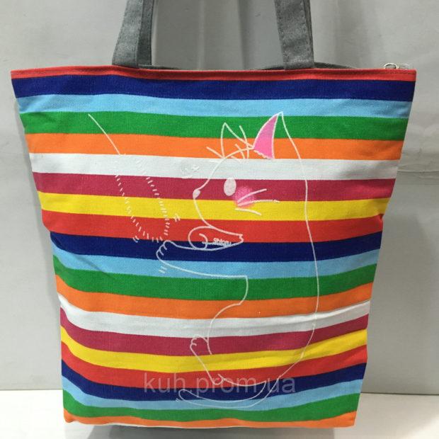сумки 2018 года модные тенденции: пляжная яркая полосатая