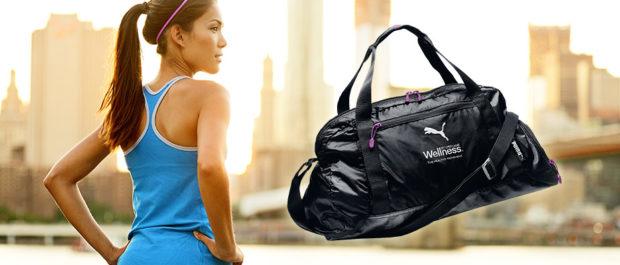 модные сумки весна лето 2019: спортивная черная Puma