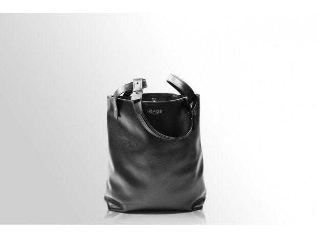 модные сумки весна лето 2019:-мешок черная