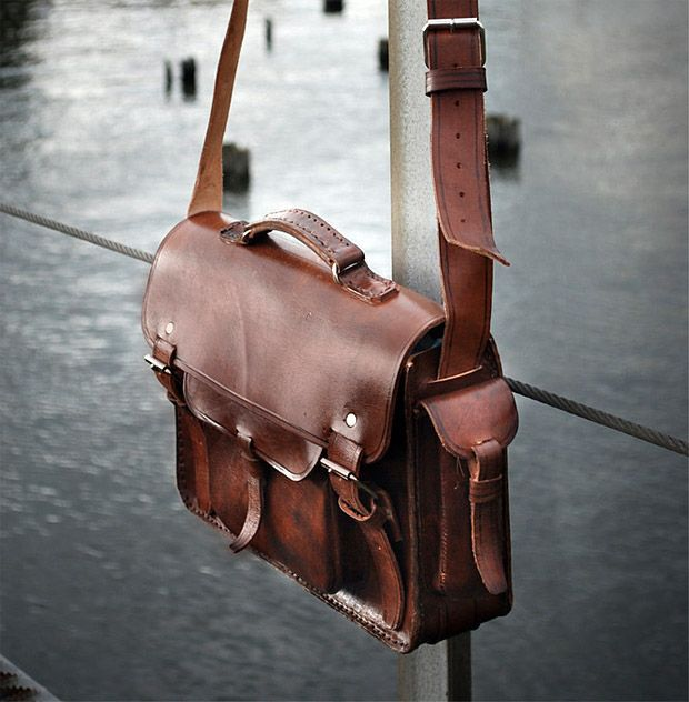модные сумки весна лето 2019: сэтчел коричневая