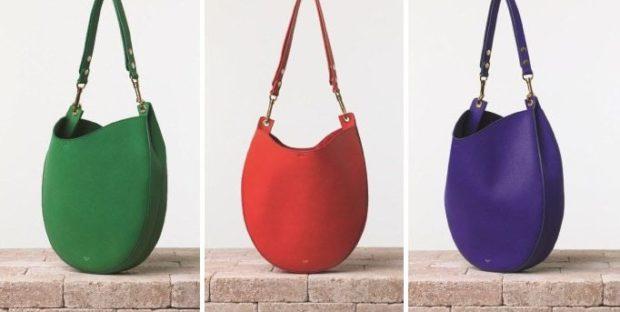 модные сумки весна лето 2019: хобо зеленая красная фиолетовая