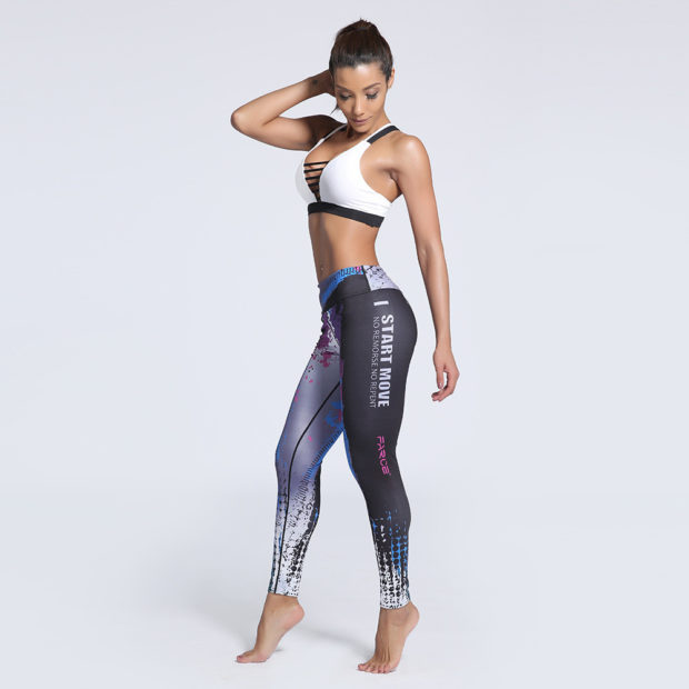 брюки весна лето 2019 года модные: леггинсы спортивные