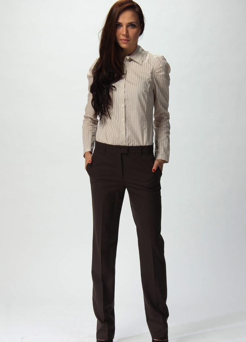 женские брюки весна лето 2019: классические черные прямые