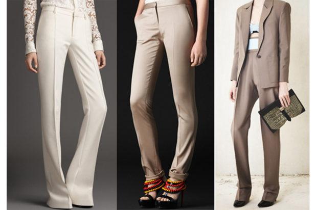 женские брюки весна лето 2019: классические светлые клеша прямые кофейные светло-коричневые прямые