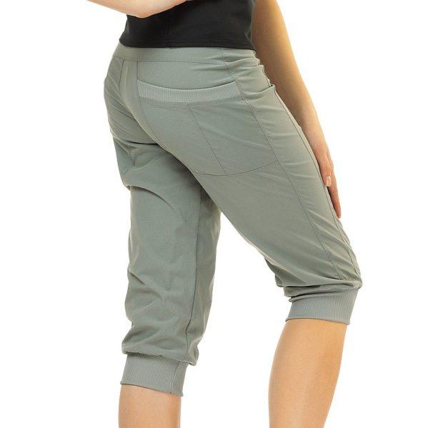 брюки весна лето 2019 года модные: бриджи серые