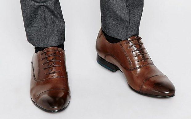 мужская мода весна 2019: коричневые туфли