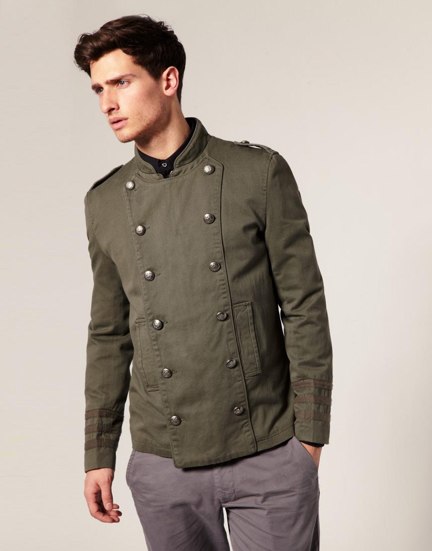 курточка милитари цвет хаки