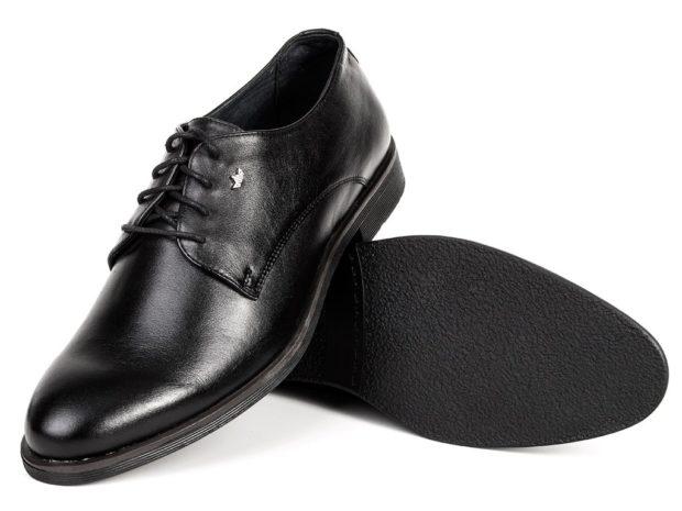 мужская мода весна 2019 основные тенденции: черные классические туфли