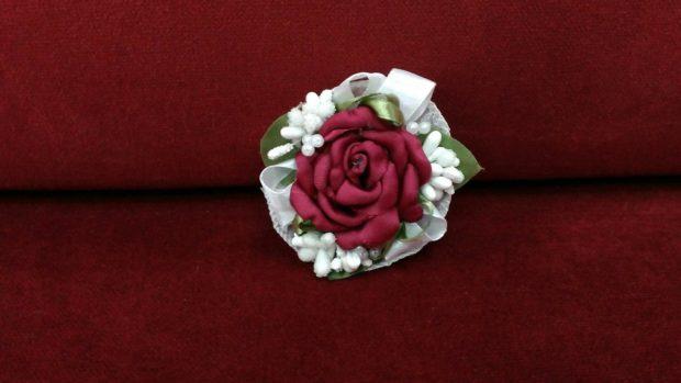 свадьба в цвете марсала образ невесты: украшение