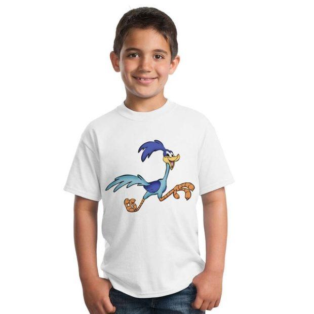 детская мода 2018: футболка белая с рисунком