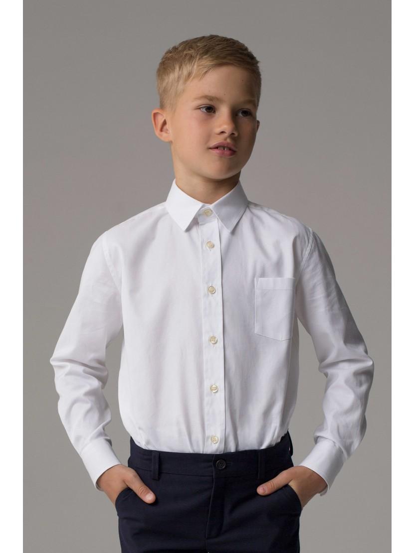детская мода 2018: простая белая рубашка