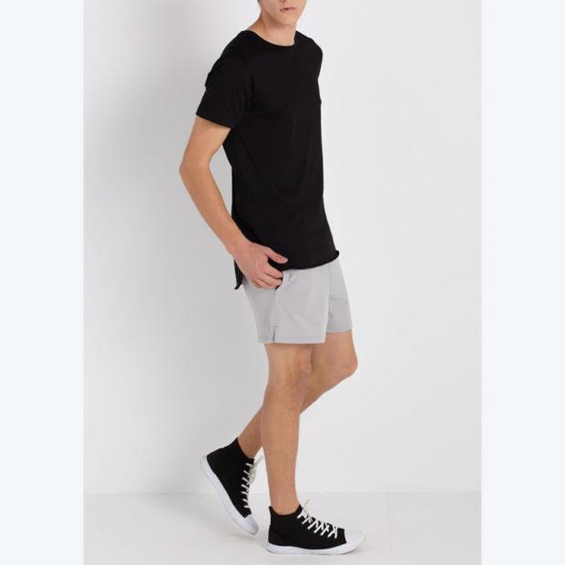детская мода 2018: шорты серые