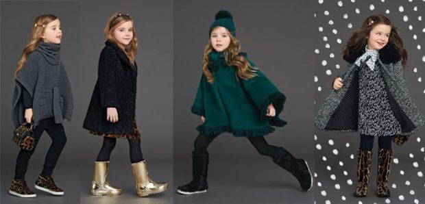 детская мода осень 2018: пальто серое черное зеленое серое