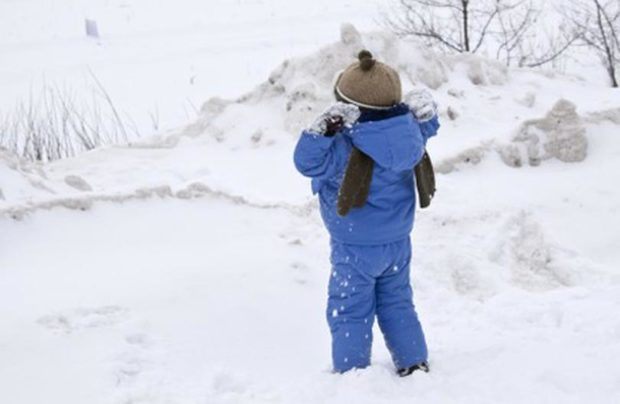 детская мода зима 2018: синий костюм теплый курточка и штаны