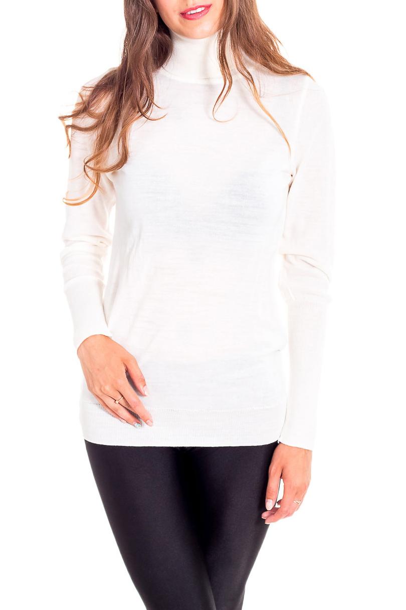 мода 2019-2020 года фото в женской одежде: водолазка белая