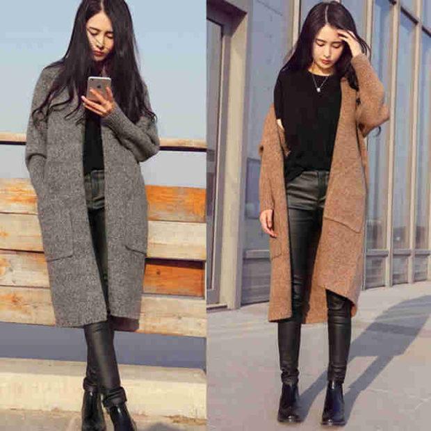 мода весна лето 2018 для женщин 30 лет: пальто серое коричневое